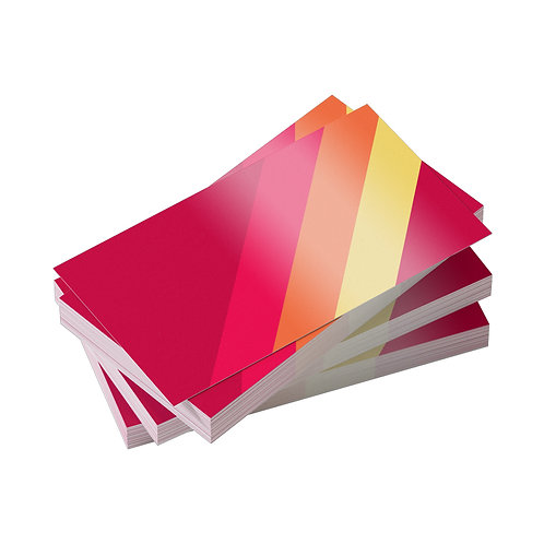Standard Business Cards with UV Gloss