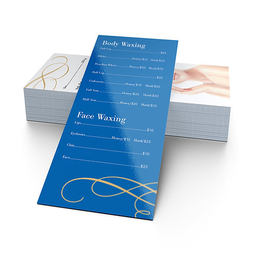 UV Gloss Rack Cards