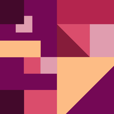 Purple abstract color palette