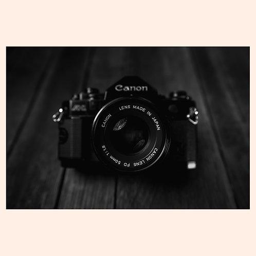 Canon A1 BW by AV