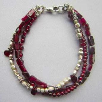 3-Strands Bracelet by Fiona's Fiasco