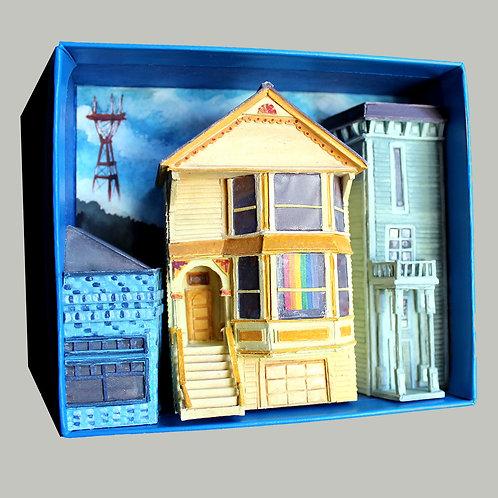 SF Model Home Diorama by Nathaniel J. Bice