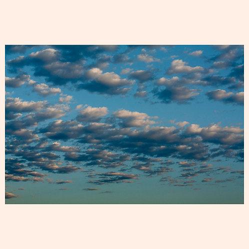 "AQUA CLOUDSCAPE: SAN FRANCISCO 8"" x 10"" by KAREN ""K.C."" COHEN"