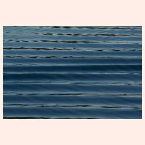 "HORIZONTAL WAVESCAPE: ALASKA  by KAREN ""K.C."" COHEN"