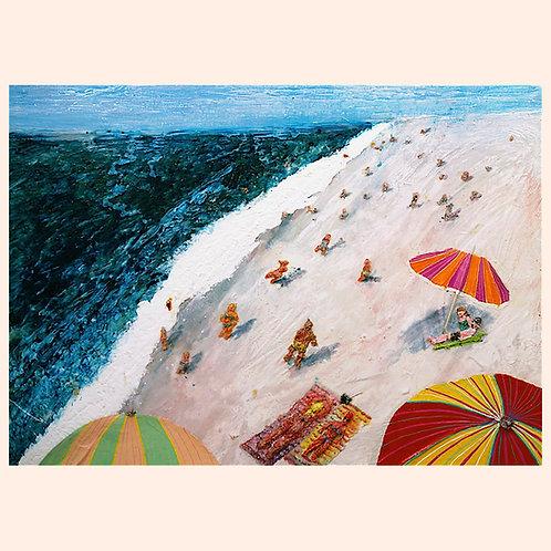 Beach Painting by Randy Ottenberg