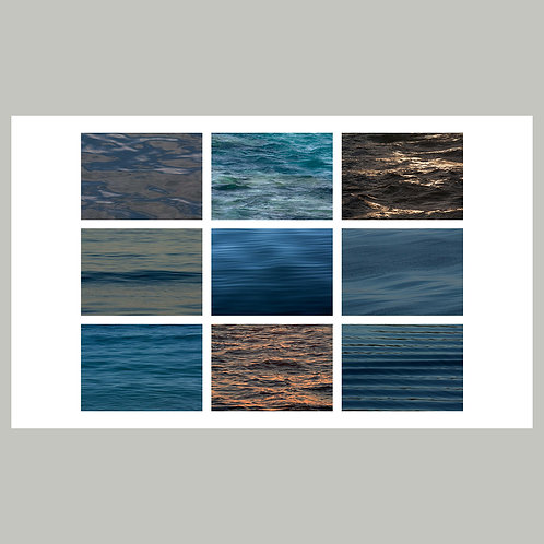 "Wavescape by Karen ""K.C."" Cohen"