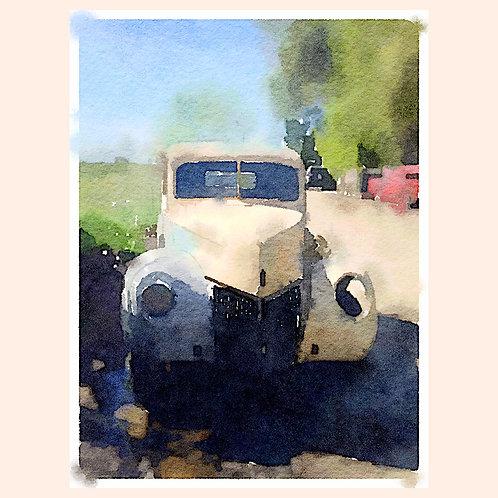 Old Pickup truck by Daniel Franco