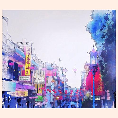 Chinatown Blue by Daniel Franco