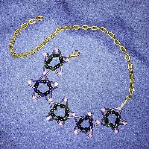 Blue Star Necklace,by Darcy Nicholson