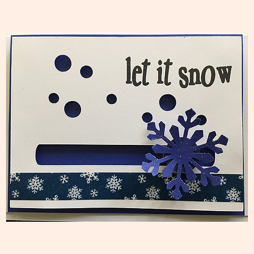 Let It Snow by Denise Woodward