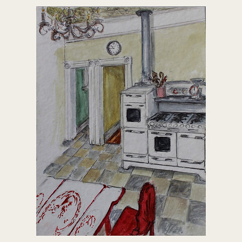 Shelter in Place, Come into My Kitchen by Callie Floor