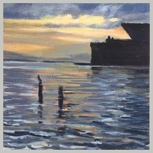 Piers Drydock Ship Bay by David Dunn
