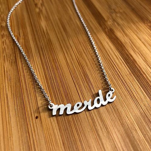 Merde Necklace by Jersey McDermott