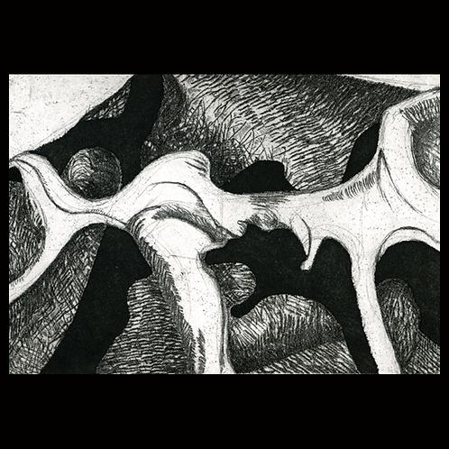 """Bones """"Le Osse"""" by Onah Indigo"""