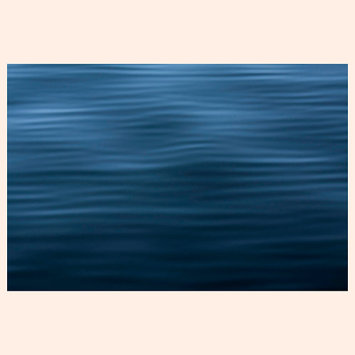 "CALM WAVESCAPE: ALASKA  by KAREN ""K.C."" COHEN"