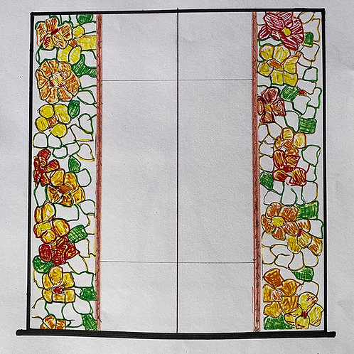 Tribute to the Furniture Shop - Custom Stained Glass by David Armatis