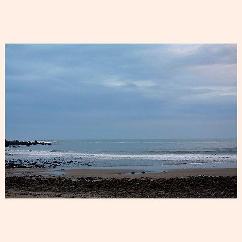 """SKY EARTH WATER: PACIFICA  8"""" x 10"""" by KAREN """"K.C."""" COHEN"""