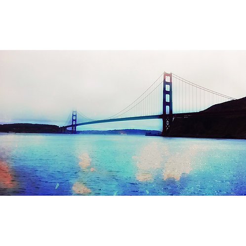 Golden Gate Bridge Blues by Daniel Franco