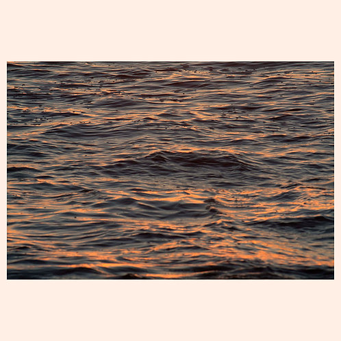 """WARM WAVESCAPE: MARTHAS VINEYARD  by KAREN """"K.C."""" COHEN"""
