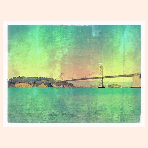Bay Bridge teal by Daniel Franco