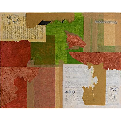 Red, Leaf, Green by Beth Ozarow