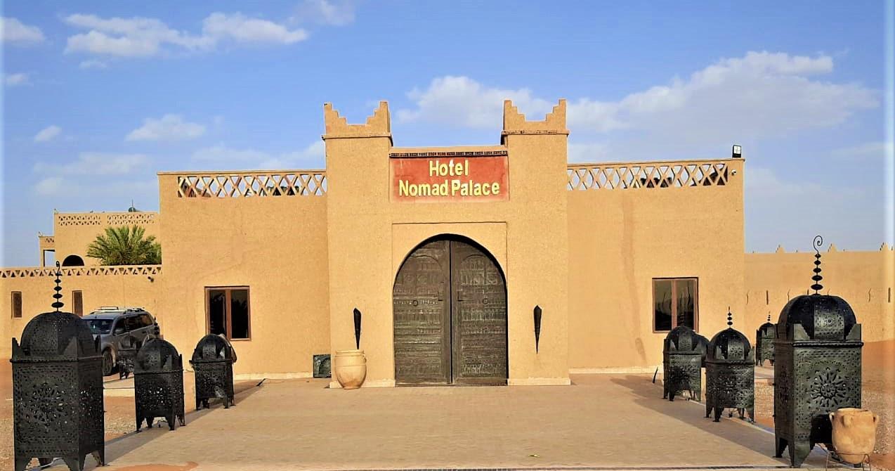 Fachada entrada Hotel Nomad Palace