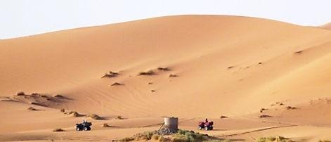 Quads y dunas - Nomad Palace