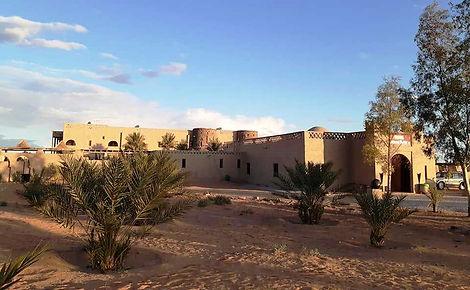 Vista desde el palmeral del Hotel Nomad