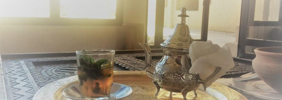 Welcome tea - Nomad Palace