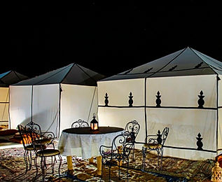 Detalle campamento standard Nomad Palace