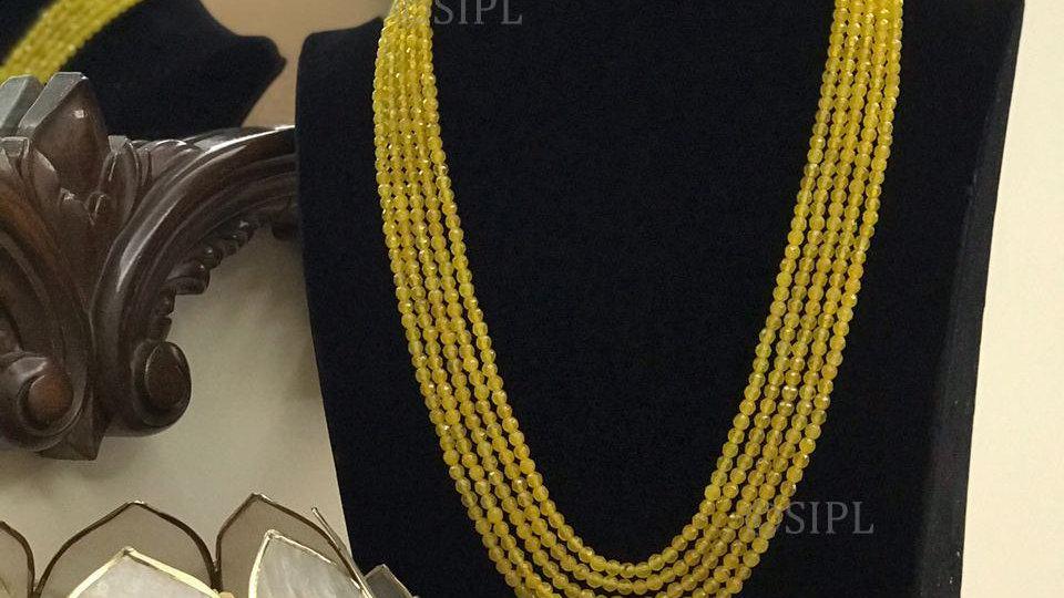 Beautiful Onyx Pearl Delicate Designer Fashionable Mala