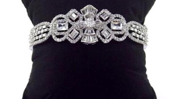 copy of Buy this beautiful and elegant American diamond (Cubic zircon) Bracelet/