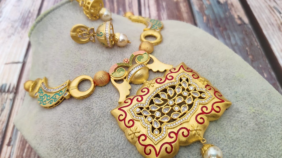 1 gram gold plated, beautifully hand-painted