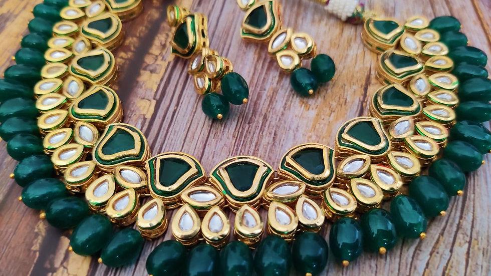 Premium quality Kundan Necklace set