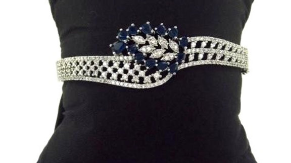 Buy this beautiful and elegant American diamond (Cubic zircon) Bracelet/Kada