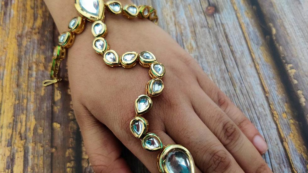 Premium quality Kundan Bracelet