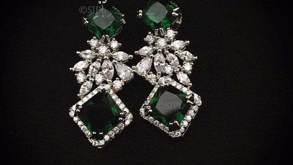 Elegant American Diamond (Cubic Zircon) earring
