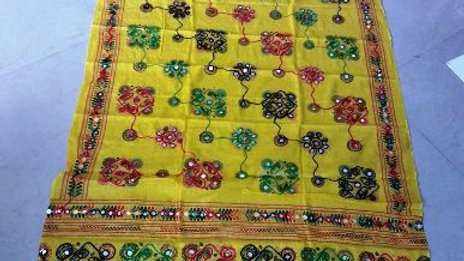 Kutch worked original Hand-worked Dupatta