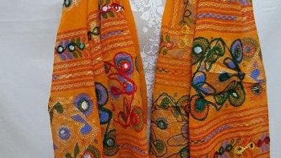 Kutch worked original Hand-worked Dupatta