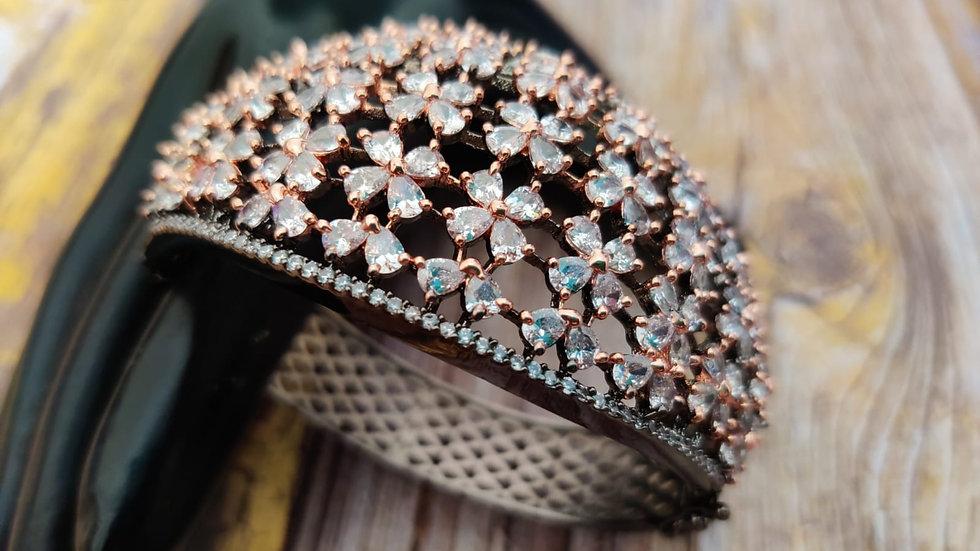 Premium quality American Diamond /Cubic Zircon Bracelet,Kada