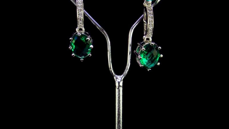 Buy this Pure Cubic Zircon(American Diamond) earring with warranty