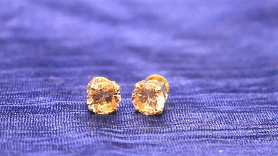 American Diamond Studs with warranty