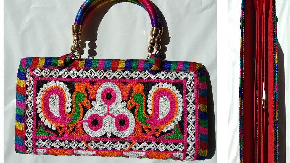 Buy this beautiful Handmade and Handworked Clutch originally from Kutch, Gujarat