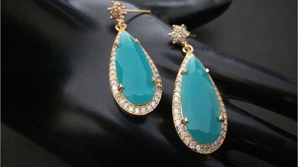 American diamond earrings with warranty
