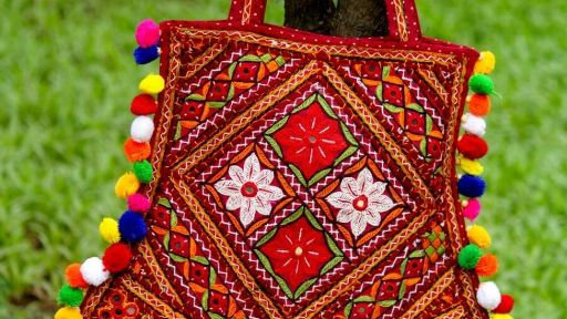 Buy this high class Original Handworked Bag ,original from Kutch,Gujarat.