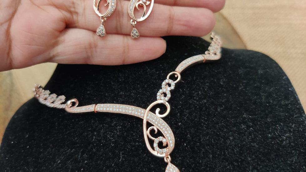 Buy this Pure Cubic Zircon(American Diamond) pendantwith warranty