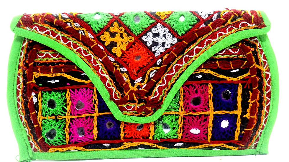 Pure Handworked Clutch ,originally from Kutch