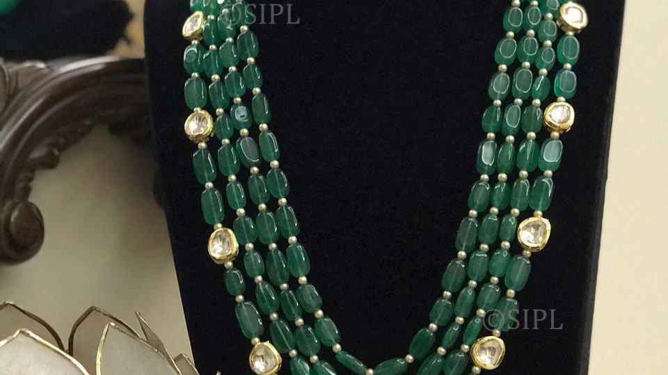 Kundan Miniature painting Necklace Set