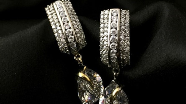 American Diamond earrings with warranty