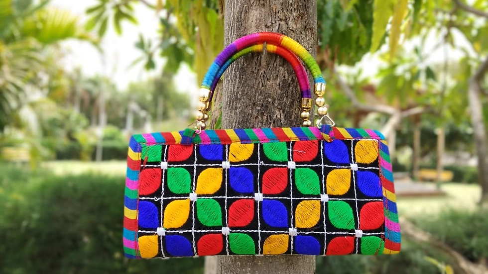 Buy this beautiful Handmade and Handworked Clutch originally from Kutch,